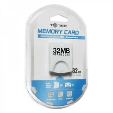 Wii/ GameCube 32MB Memory Card NEW FAST SHIPPING