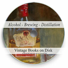 Rare Books Alcohol Brewing Distillation DVD Beer Wine Spirits Brew Home Kit 285