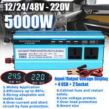 5000W LCD Spannungswandler Solar Power Inverter Wechselrichter Stromwandler