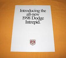 Dodge Intrepid 1998 USA Prospekt Brochure Depliant Catalog Prospetto Prospecto