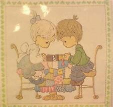 Precious Moments Crewel Embroidery Kit God Bless Our Home Paragon 1089 New Pack