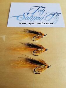 3x Cascader Size 6 Double Hook Salmon Fishing Flies