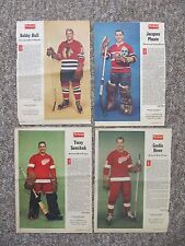 1958-1967 Weekend & Star Weekly Magazine Hockey Photos. 28 different