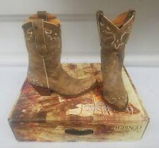 "Old Gringo Womens Boots Size 6 Rust Bone Villa 10"""