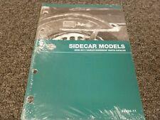 2008 2009 2010 2011 Harley Davidson Sidecar Models Parts Catalog Manual Book