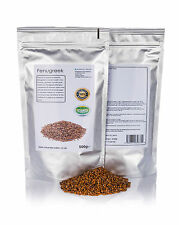 500g FENUGREEK SEED•HEALTH•100% GMO FREE•BLOOD SUGAR•STOMACH ULCERS•