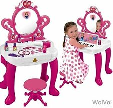 Pretend Play Vanity Toy Set for Girls,  cosmetic Accessories with Piano & Lights