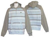 NEW Nike Sportswear NSW Vintage Pullover Hoodie Blue & Grey S