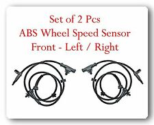 2 ABS Speed Sensor  Front Left & Right Fits: Nissan Tiida Versa 2007-2014