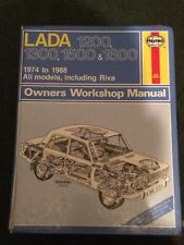 HAYNES MANUAL 413 LADA 1200 1300 1500 1600 & RIVA  1974 TO 1988 .