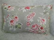 "Clarke & CLARKE rose jardin coussin rectangulaire 18 "" x 12 ""( 46 cm x 30 cm)"