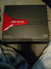 JVC KS-AX3201D 800W MAX POWER MANO CHANNEL Power Amplifier - Used Very Good