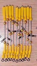 ¡¡¡ OFERTA !!! LOTE DE 10 URFES DE PESCA. COLOR AMARILLO. 1,2 mm.