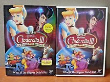 AUTHENTIC DISNEY: Cinderella III: A Twist in Time (DVD, 2007) LIKE NEW