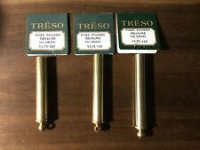 """Three Treso Fixed Black Powder Measure, 1/2"""" 100, 110, 125 grain Usa"""