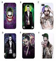 Suicide Squad - Joker - Phone Case - Fits iPhone 4/4s/5/5s/5c/6/6+/7/7+/8/8+/X