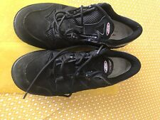 MBT Sport Black Leather Shoes Trainers Size UK 6.5