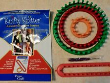 NEW KNIFTY KNITTER ASSORTED LOOM SERIES, PROVO CRAFT, COMPLETE