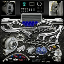 GT45 13PC TURBO KIT TURBOCHARGER+MANIFOLD+DOWNPIPE+WG 79-93 FORD MUSTANG 5.0L V8