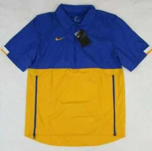 Nike Men's Sideline Coaches 1/2 Zip Short Sleeve Pullover Windbreaker, XL, $65