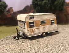 Winnebago 1/64 Weathered Barn Find Custom Camper Trailer Diecast Abandoned