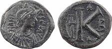 Anastase, demi-follis, Constantinople, Pentanummium ?, grand K -  72