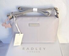 Radley Gift Boxed Barbican Grey Nylon Across Body Bag BNWT Brand New!