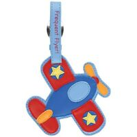 Kid's Colorful Airplane Luggage Tag