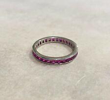 Rings - Sterling Silver - Cubic Zirconia - Pink - Australian Seller - ME Brand