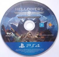 HELL DRIVERS Super-Earth Ultimate Edition Game PlayStation 4 PS4  - Disc Only