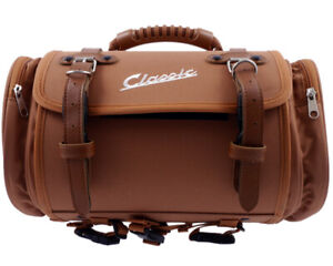 Tasche/Koffer SIP klein, für Gepäckträger, 330x190x180mm, ca. 10 L, Nylon,braun