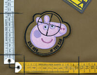 "Ricamata / Embroidered Patch ""Peppa Pig"" with VELCRO® brand hook"