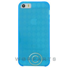Apple iPhone 5/5S/SE Candy Skin - Blue Case Cover Shell Protector Guard Shield