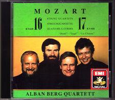 ALBAN BERG QUARTETT: MOZART String Quartet No.16 17 K.428 458 Hunt Jagd EMI CD