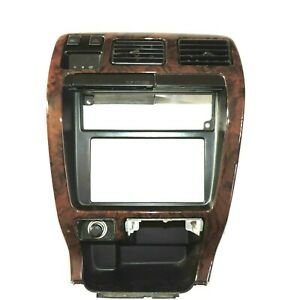 ★1999 TOYOTA 4RUNNER LIMITED DASH CONSOLE TRIM BEZEL 97 CUP HOLDER WOOD GRAIN