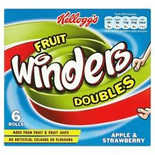 Kellogg's Fruit Winders Doubles Apple & Strawberry (6x17g)