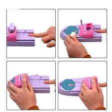 Nail Art DIY Motif Impression Manucure Machine Dessin Polonai Nail Printer Set