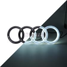 Black Car Led Front Grille Logo Emblem Light For Audi A1 A3 A4 A5 S3 A6 5500K