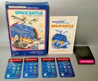 Space Battle - Intellivision Complete Game w/ Game, Box, Manual, & Keypad Covers