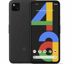 """GOOGLE Pixel 4a 128GB 5.8"""" SIM-free Smartphone Android 10 Just Black - Currys"""