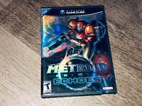 Metroid Prime 2 Echoes Nintendo Gamecube Wii w/Case Authentic