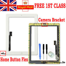 For iPad 4 A1458 A1459 A1460 White Touch Digitizer Screen Replacement+Flex Cable