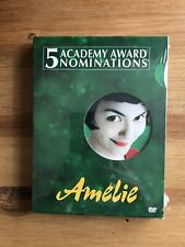 Amelie (2-Dvd Set, 2001) Special Edition Factory Sealed New