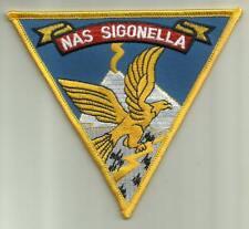NAVAL AIR STATION SIGONELLA U.S.NAVY PATCH ITALY NATO FIGHTERJET AIRCRAFT PILOT