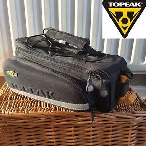 RRP £39.99 Topeak Quick RX Trunkbag Track Rear Pannier Bike Bag Side Panniers