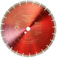 Diamanttrennscheibe Diamantscheibe 230 350 400 - 12 mm Segment USSV Beton Granit