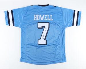 Sam Howell Signed North Carolina Tar Heels Jersey (JSA Holo) 2021 Jr Quarterback