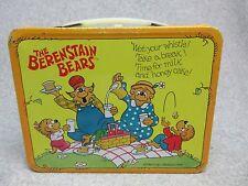 1983 BERENSTAIN BEARS Tv LUNCHBOX  Saturday Morning Cartoon Animated C#9