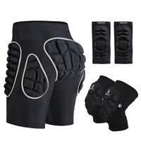MTB Mountainbike Protektor Shorts mit Polsterung Radfahren Knie Ellenbogen Pads