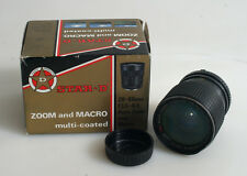 28-85MM 3.5-4.5 IN ORIGINAL BOX FOR MINOLTA MD WITH REAR CAP FOR PARTS